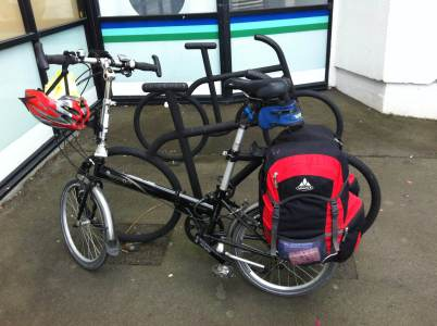 Bike Parking for a loaded bike