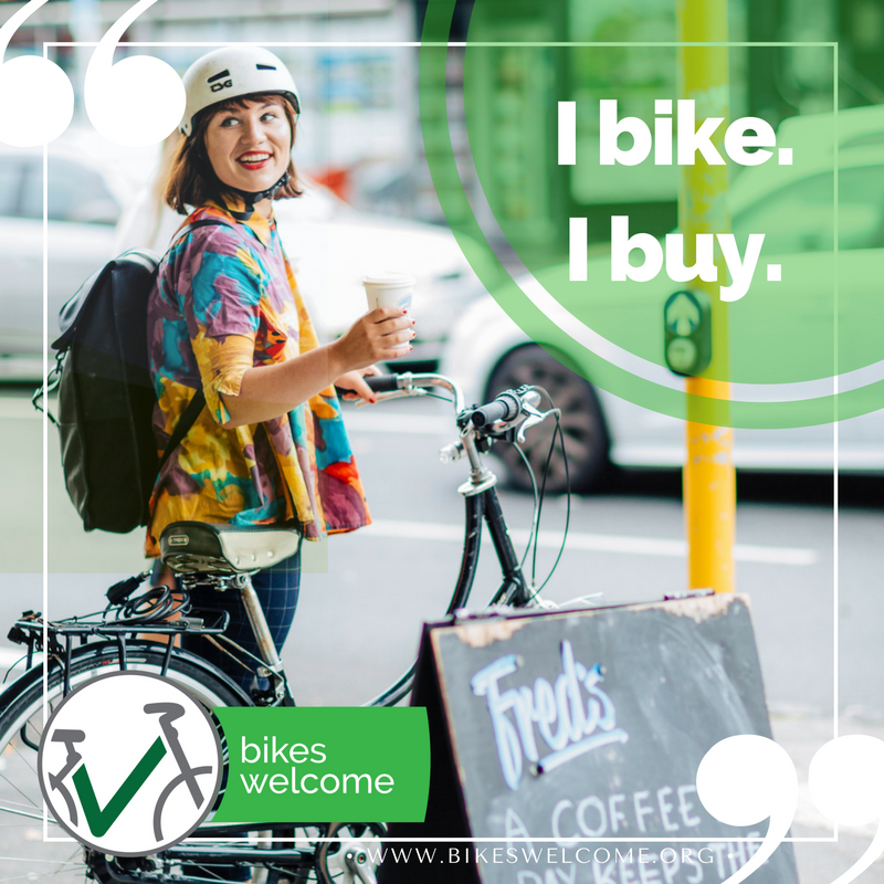 I bike. I buy. Bikes Welcome