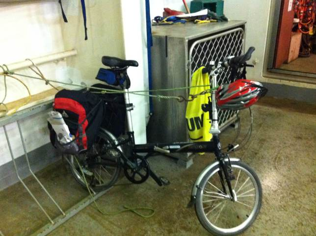 """A loaded bike with 20"""" wheels found this wheel bender inadequate."""
